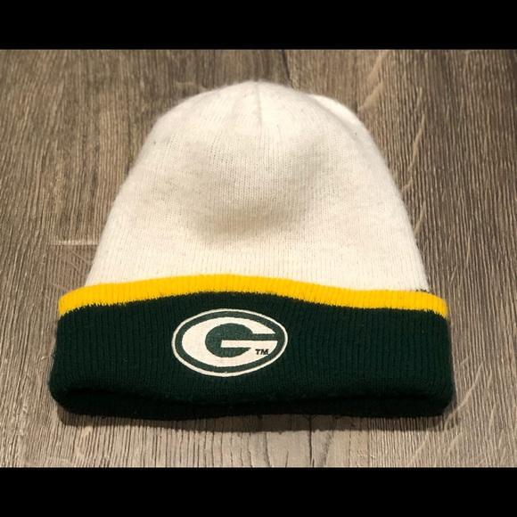 Accessories Vintage Green Bay Packers Winter Hat Beanie Poshmark